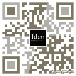 QR code with logo iRp0