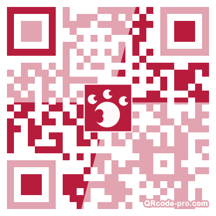 QR code with logo iUp0