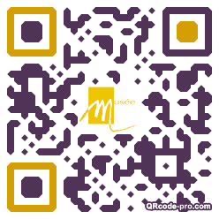 QR code with logo iVX0