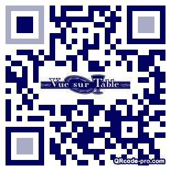 QR code with logo ijR0