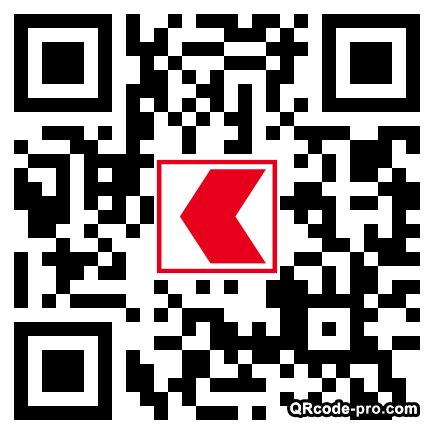 QR code with logo ijp0