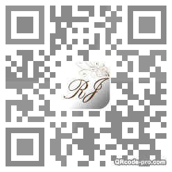 QR code with logo ikV0