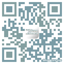 QR code with logo iqh0