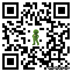 QR code with logo jH50