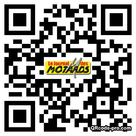 QR code with logo jjo0