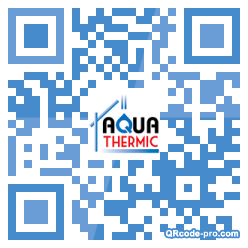 QR code with logo k2T0