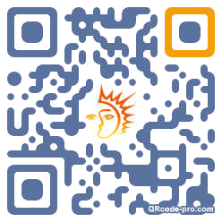 QR code with logo k3M0