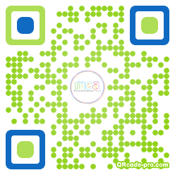 QR code with logo k780