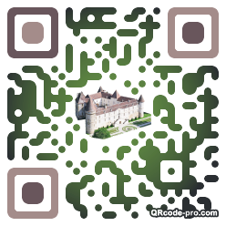 QR code with logo kFP0