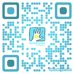 QR code with logo kID0