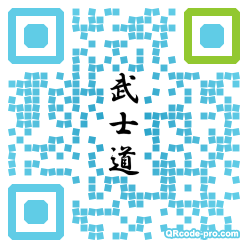 QR code with logo kLB0