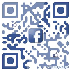 QR code with logo kU70
