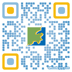 QR code with logo kas0