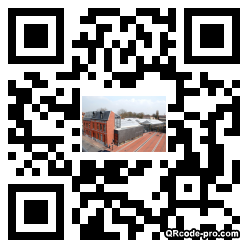 QR code with logo kis0