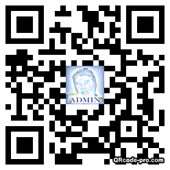 QR code with logo kpD0
