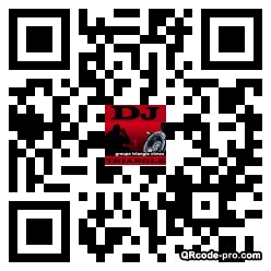 QR code with logo kqs0