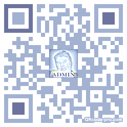 QR code with logo kwg0