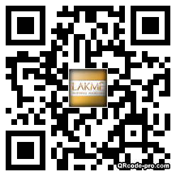 QR code with logo l0H0