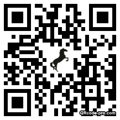 QR code with logo lBA0