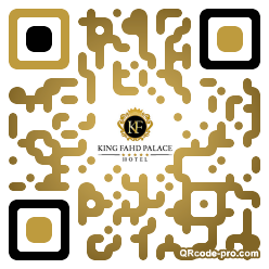 QR code with logo lOt0