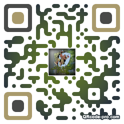 QR code with logo lPe0