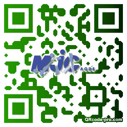 QR code with logo lTq0