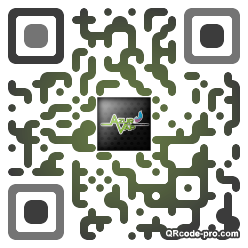 QR code with logo lVZ0