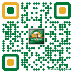 QR code with logo lW90