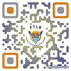 QR code with logo lWc0