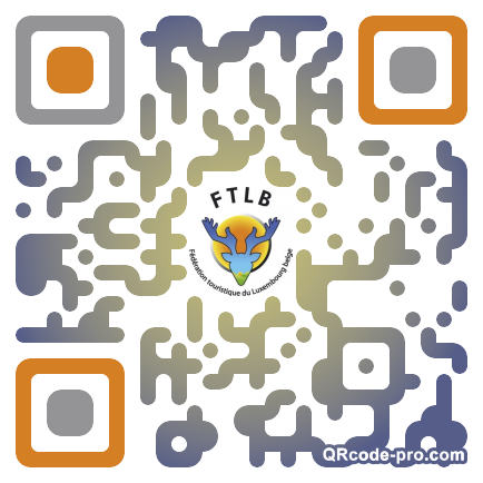 QR code with logo lWe0