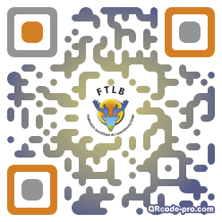 QR code with logo lWg0