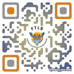 QR code with logo lWi0