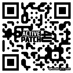 QR code with logo lY40