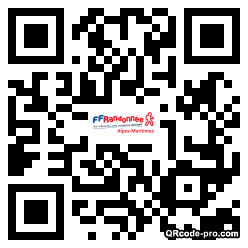 QR code with logo lfy0