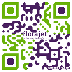 QR code with logo lxm0