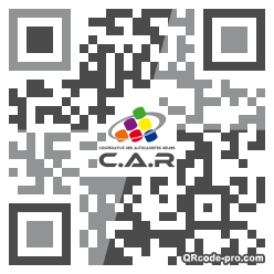 QR code with logo lxv0