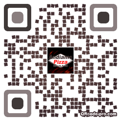 QR code with logo m0t0