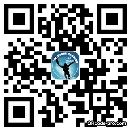 QR code with logo m1C0