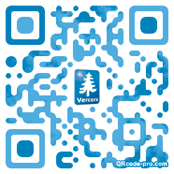 QR code with logo m3a0