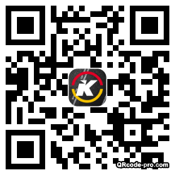 QR code with logo m3h0