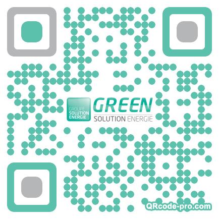 QR code with logo m6V0