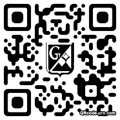 QR code with logo m970