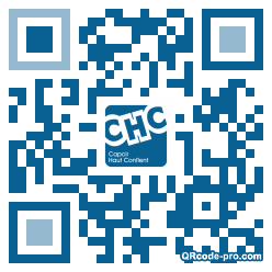 QR code with logo mA10