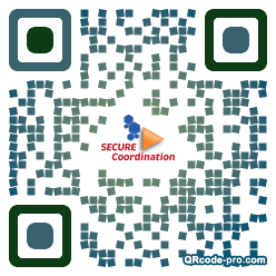 QR code with logo mD70