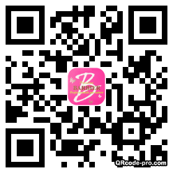 QR code with logo mG20