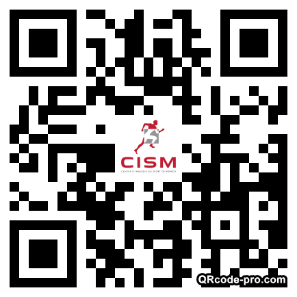 QR code with logo mMY0