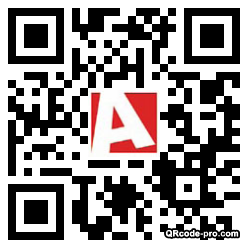 QR code with logo mba0