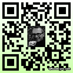 QR code with logo mbj0