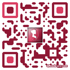 QR code with logo mf20