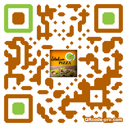 QR code with logo mf50